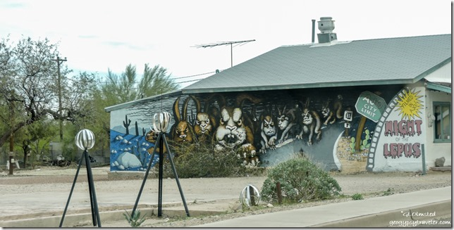 Night of Lepus mural Ajo Arizona
