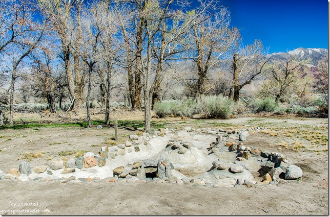 Arai family pond renovation Manzanar National Historic Site Independence California