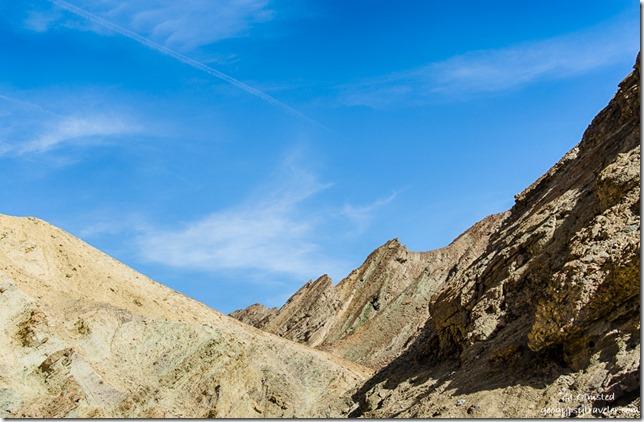 Amargosa Range Golden Canyon Death Valley National Park California