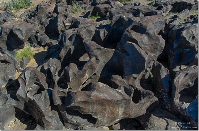 water carved basalt Fossil Falls BLM Little Lake California