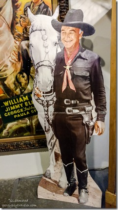Hopalong Cassidy Museum of Westren Film History Lone Pine California