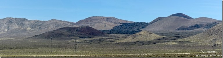 lava flow Coso Mountains Fossil Falls BLM Little Lake California
