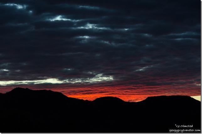 sunset Vermilion Cliffs Kanab Utah