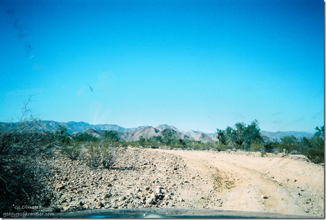 The Baja race track Mexico