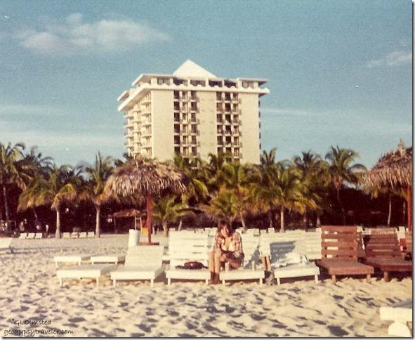 Gaelyn on the beach Freeport Bahama