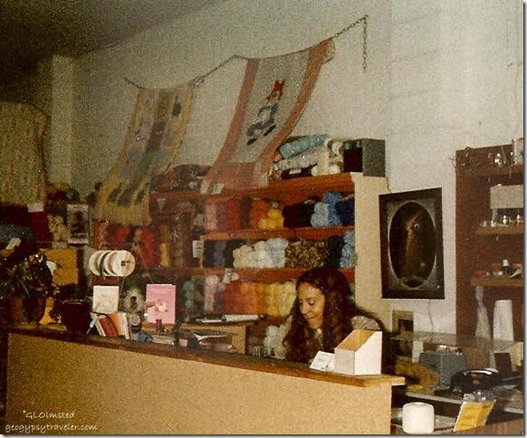 Gaelyn in 2nd store Tonasket Washington