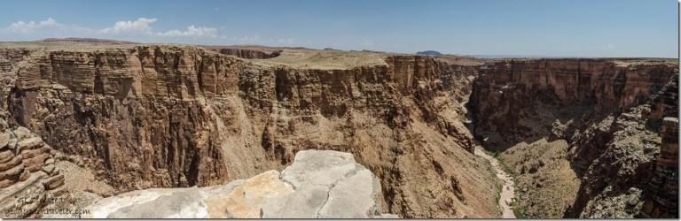 Little Colorado River Gorge interp site Navajo Rezervation SR64 Arizona