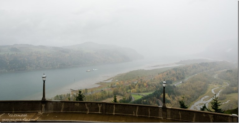 Columbia River from Crown Point Historic Columbia River Highway Crown Point Oregon
