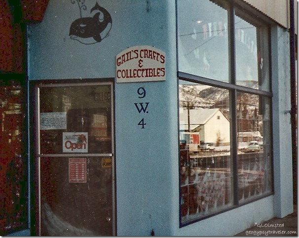 Second store The Yarn Shop Tonasket Washington 1983