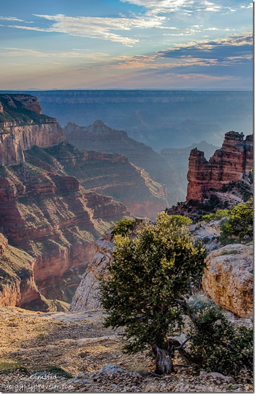last light Cape Royal Wedding Site North Rim Grand Canyon National Park Arizona