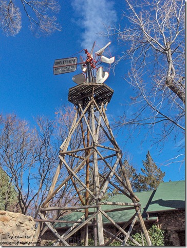 Windmill at Sharlot Hall Museum Pescott Arizona