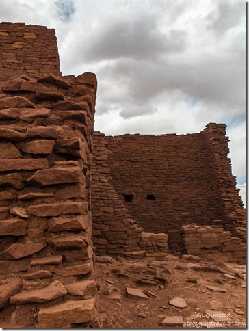 Wukoki Pueblo Wupatki National Monument Arizona