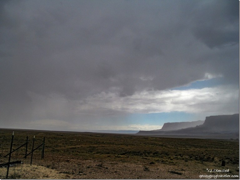 Storm West Vermillion Cliffs Hwy 89A North Arizona