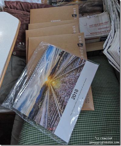 calendar shipping