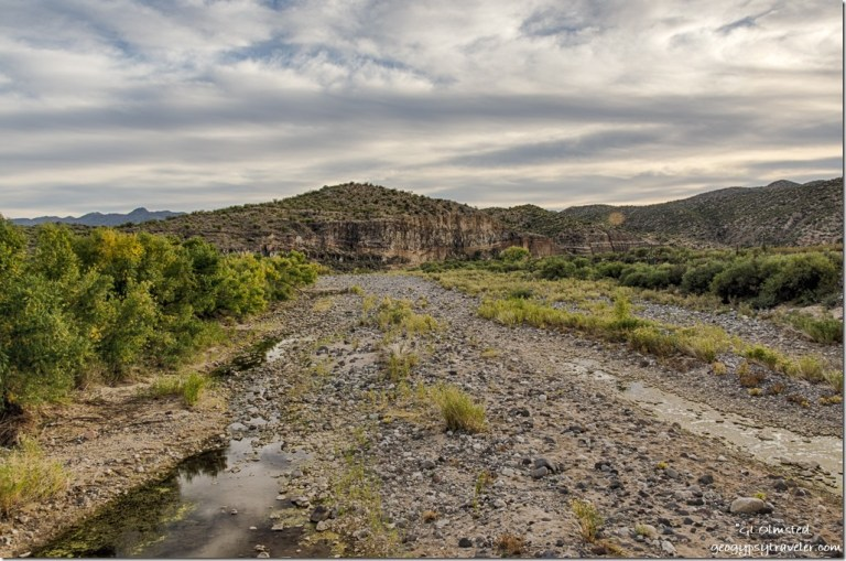 Burro Creek downstream from low bridge Arizona
