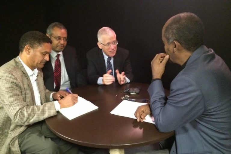Ethiopian TV Interview: Establishing a GEOHealth Hub Platform for East Africa