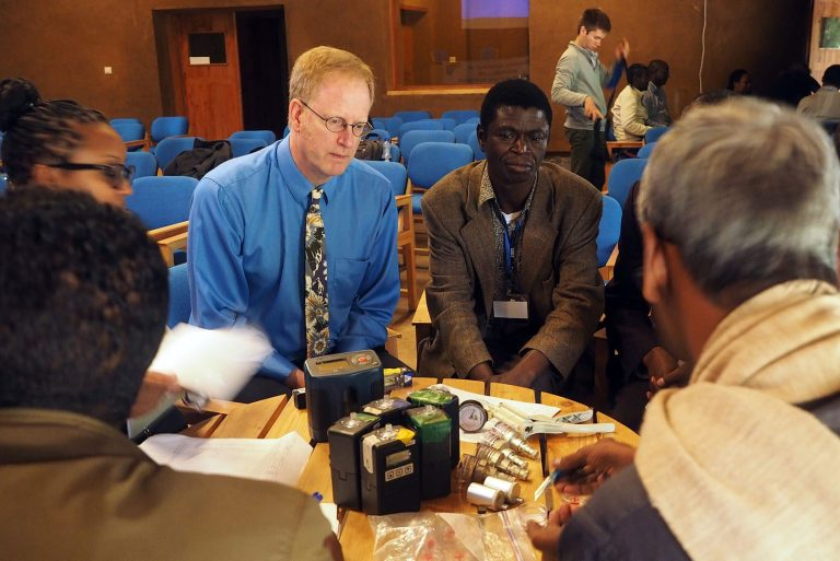 Read more about the article Household Air Pollution MonitoringTraining, Ethiopia