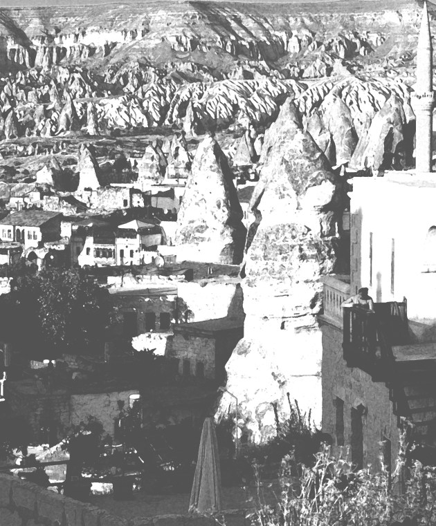 Infinity tellers, panorama. Goreme, Turchia 2012