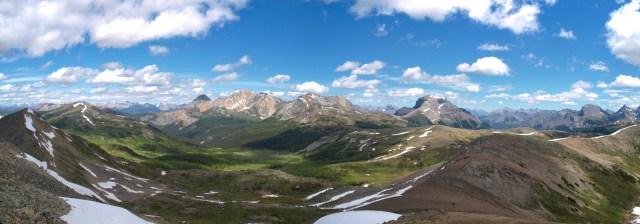Pilot Mountain, Mount Brett and Mount Bourgeau