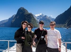 GeoKs at Milford Sound