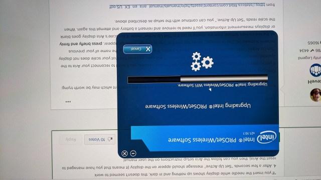 installing new wifi drivers
