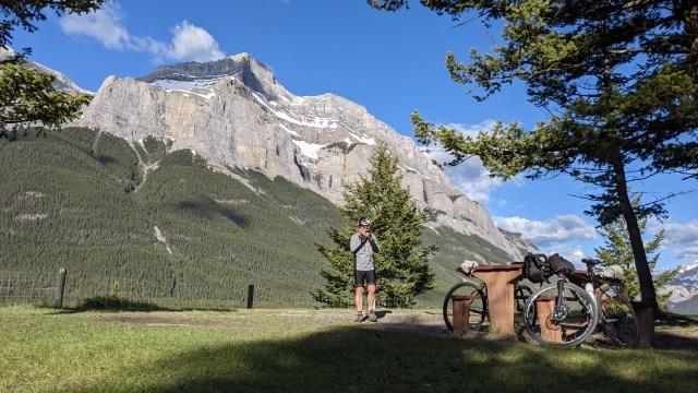 rest stop along Rocky Mountain Legacy Trail