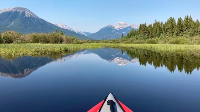 Mount Bourgeau reflection