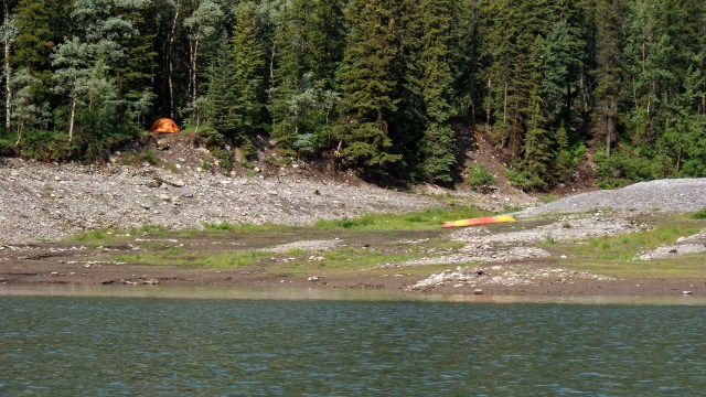 kayak camper