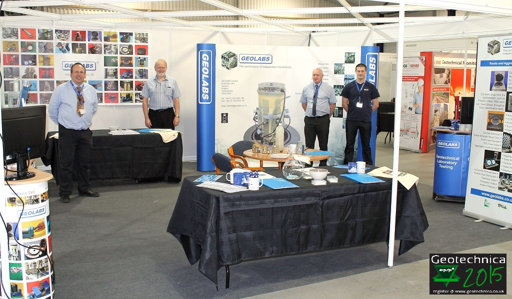 GEOLABS at Geotechnica 2015