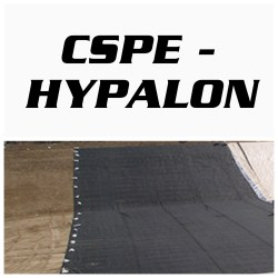 Hypalon geomembrane