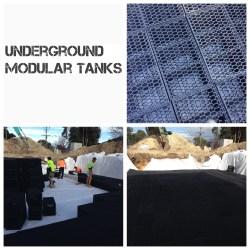 Modular Underground Tank