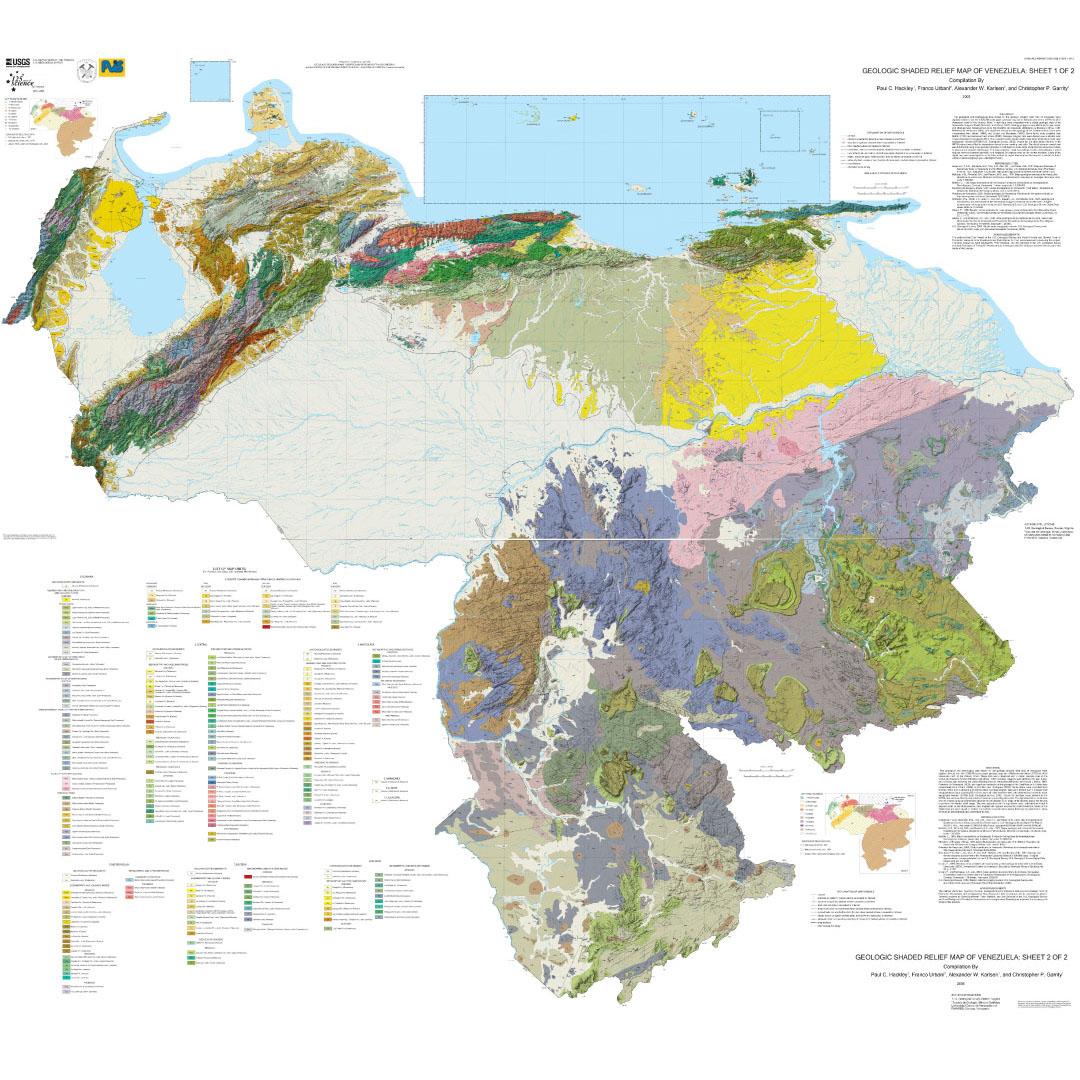Mapa Geológico de Venezuela