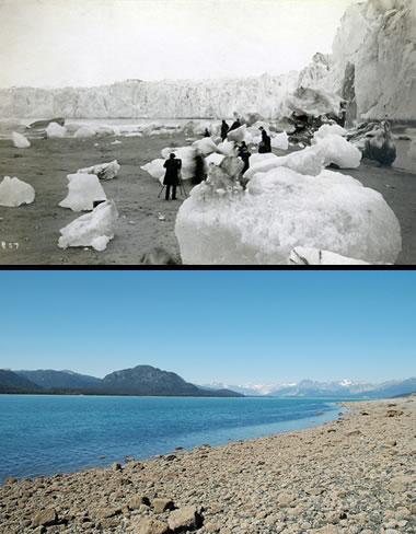 Sampling glacial ice