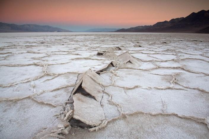 Death Valley Salt Pan at Sunrise