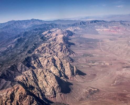 Keystone Thrust fault  Red Rocks, Nevada