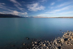 Lake Pukaki and Mt. Cook, NZ