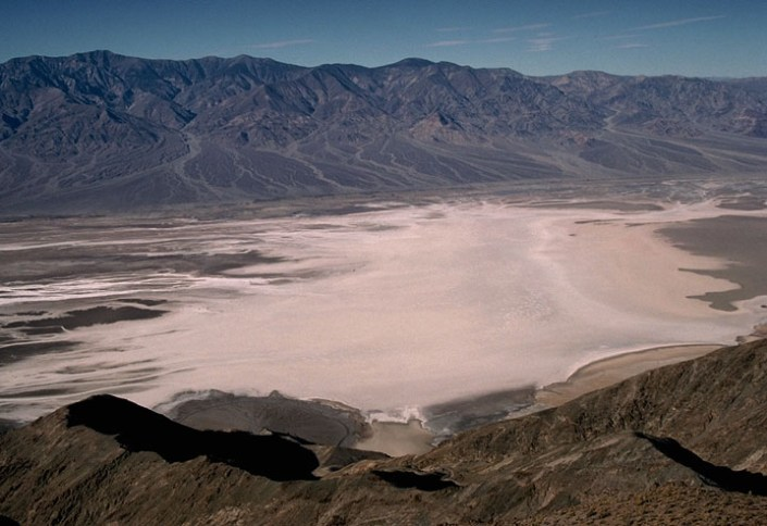 Death Valley salt pan from Dantes View