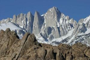 Mt. Whitney Cretaceous granodiorite