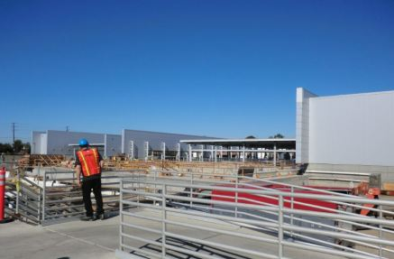 Construction to improve and enlarge the facility.