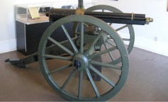 Gatling Gun from Technological Advances Room. Image from drumbarracks.org.