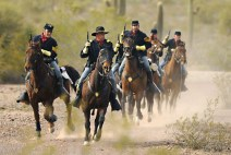 Re-enactment of the Battle of Picacho Pass. Image from tucsoncitizen.com