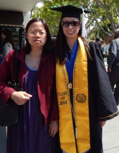 Me and my mom after the ceremony.