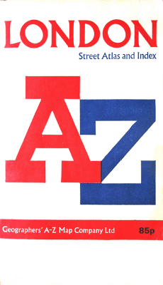 Cover of the A-Z Street Atlas. Image from en.wikipedia.org