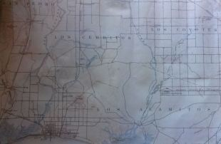 1896 quad map of Long Beach. Map provided by Larry Rich.