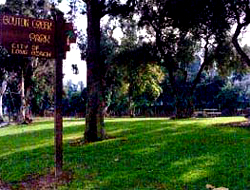 Bouton Creek Park sign. Image from www.longbeach.gov