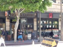 Coffee shop in DTLA. Photo by Laylita Day.