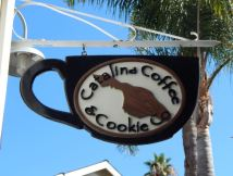 Catalina Coffee and Cookie Co. sign. Photo by Laylita Day.