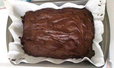 Finished Brownie. Photo by Laylita Day.