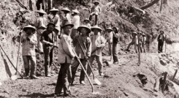 Chinese railroad workers. Image from Google Images.