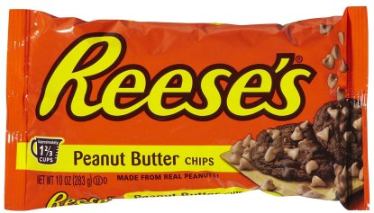 Reese's peanut butter chips. Image from Google Images.